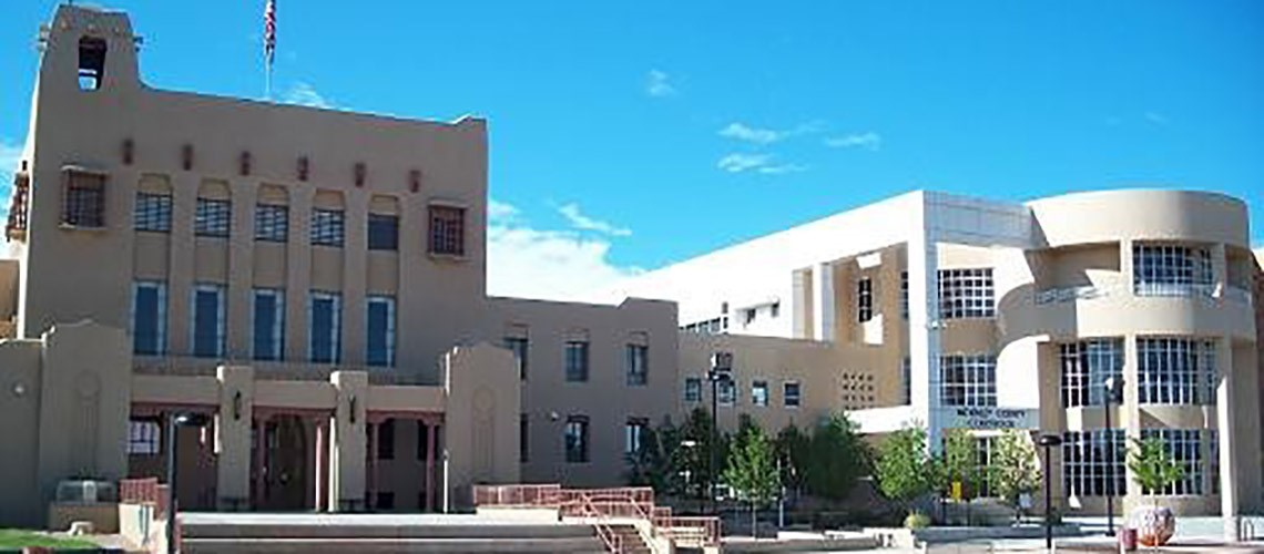 A front view of the Gallup District Court
