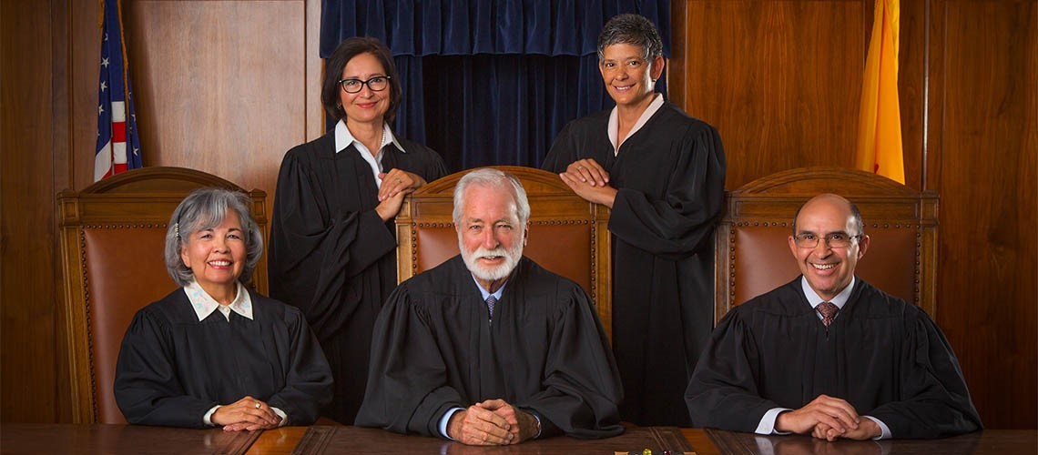 Official Court Photo of the Supreme Court Justices